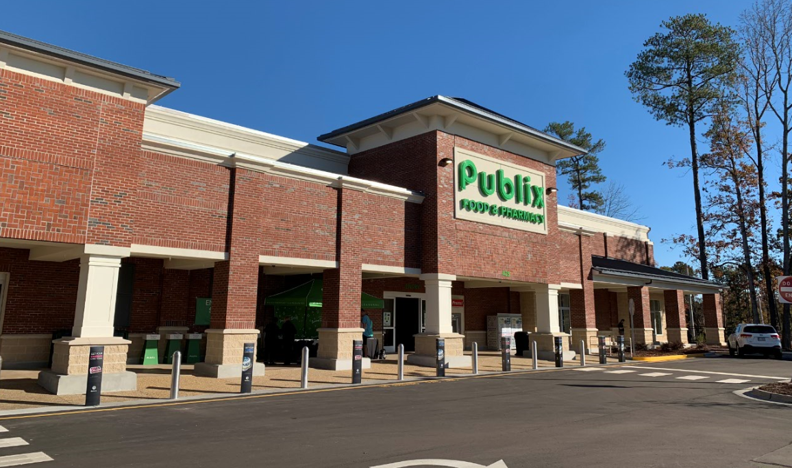 Publix Opens at Amberly Place in Cary, North Carolina