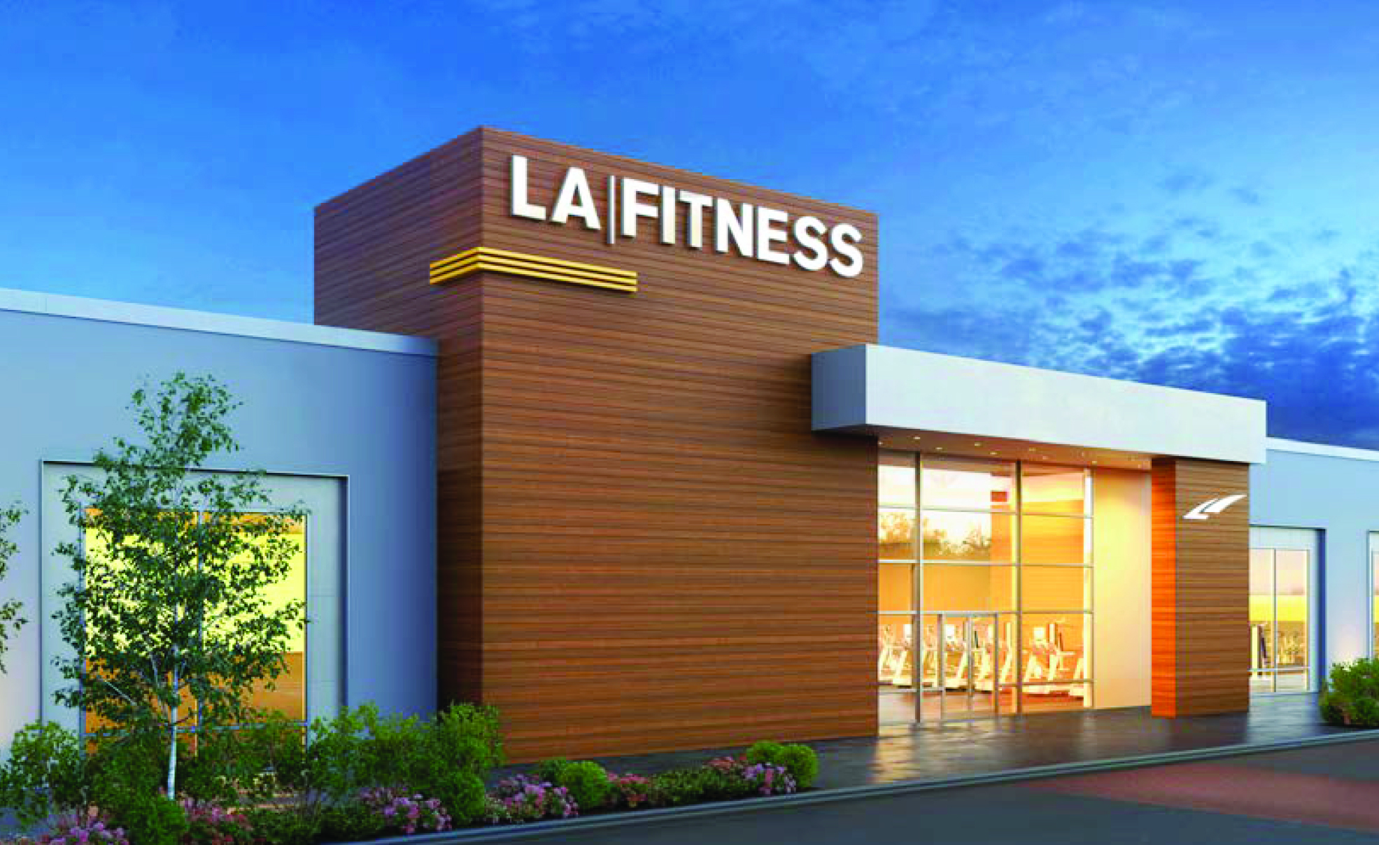 Weathersfield Commons LA Fitness
