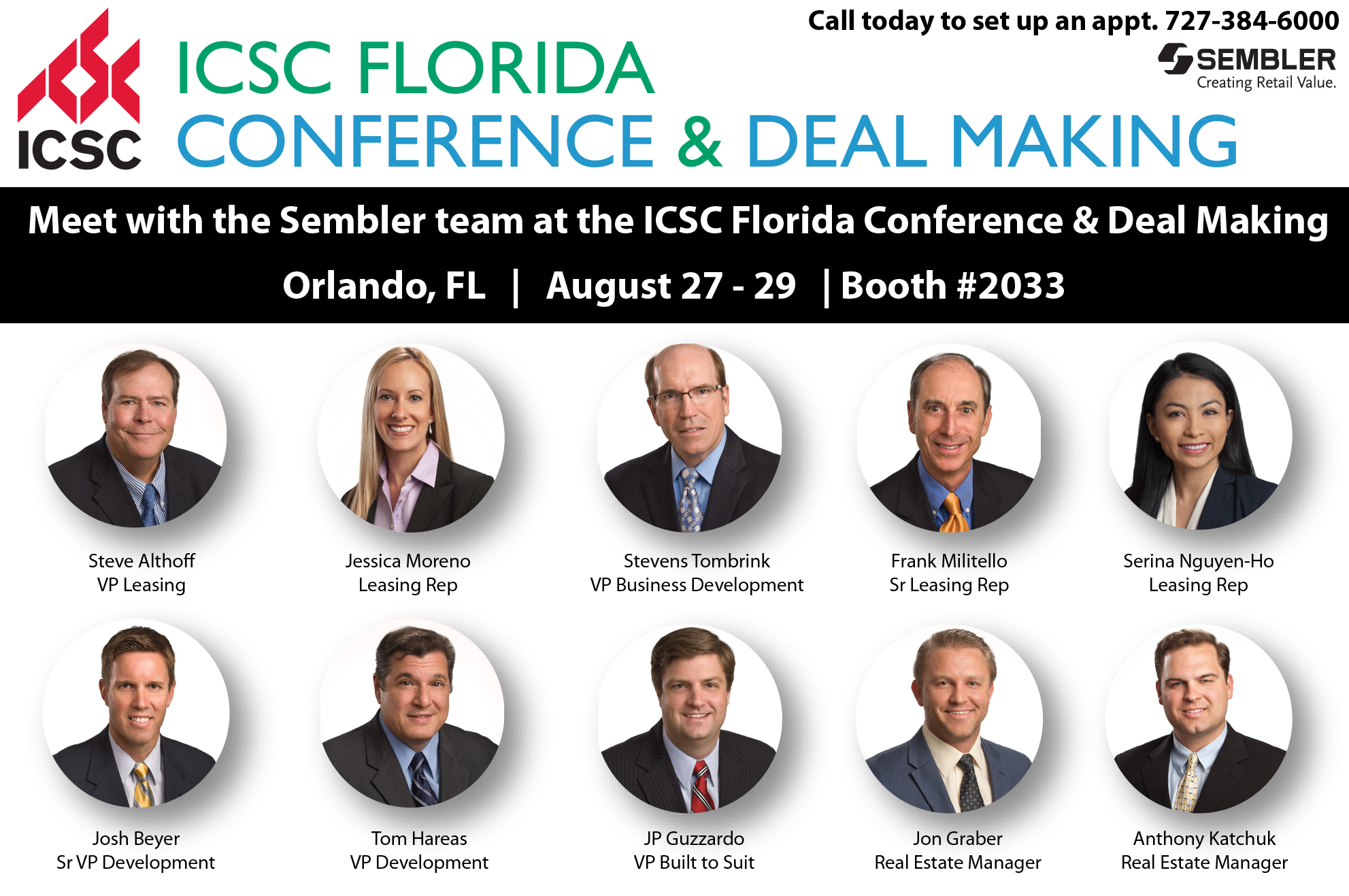 Sembler To Highlight New Developments, Acquisitions at ICSC Florida Conference