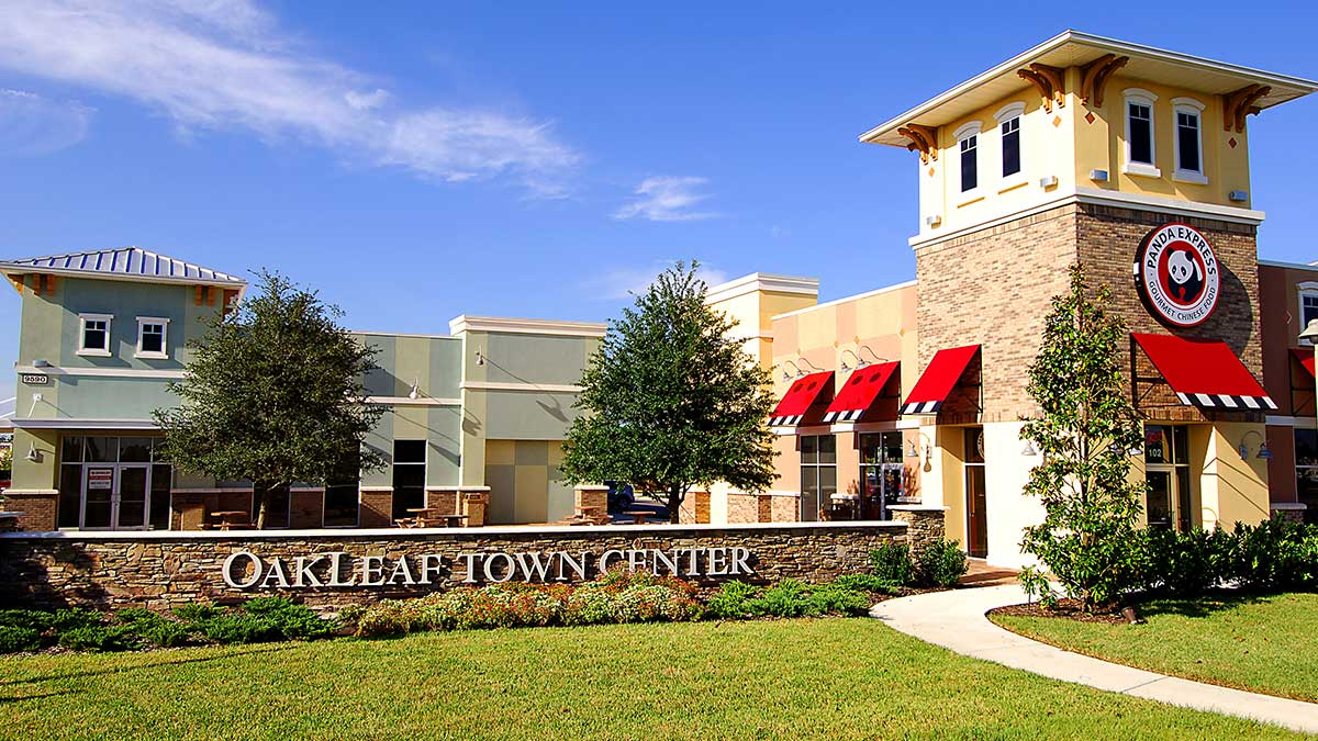 Oakleaf Town Center.