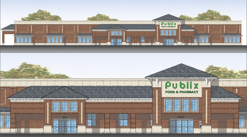 Amberly Place Publix Rendering