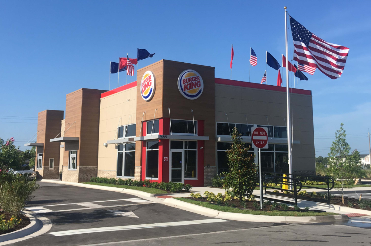 Burger King Now Open at Trinity Lakes Crossings