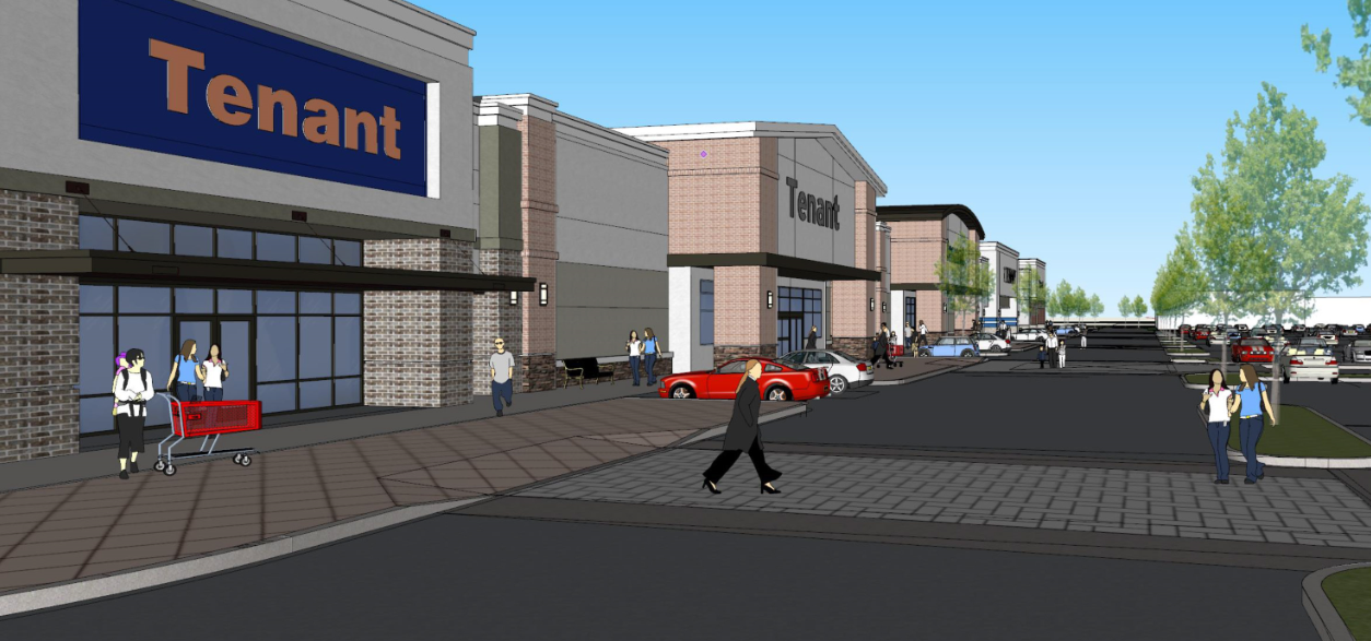 North Macon Plaza Rendering
