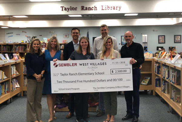 School Grant Program Taylor Ranch