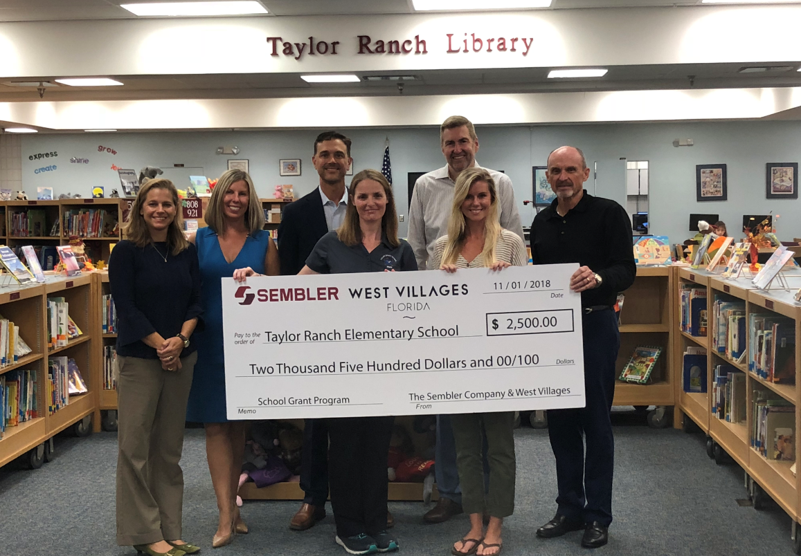 School Grant Program Taylor Ranch