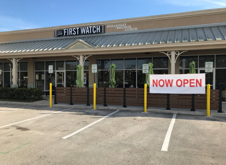 First Watch Lauderhill Now Open at Commerical Blvd Shoppes
