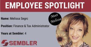 Spotlight Employee Melissa